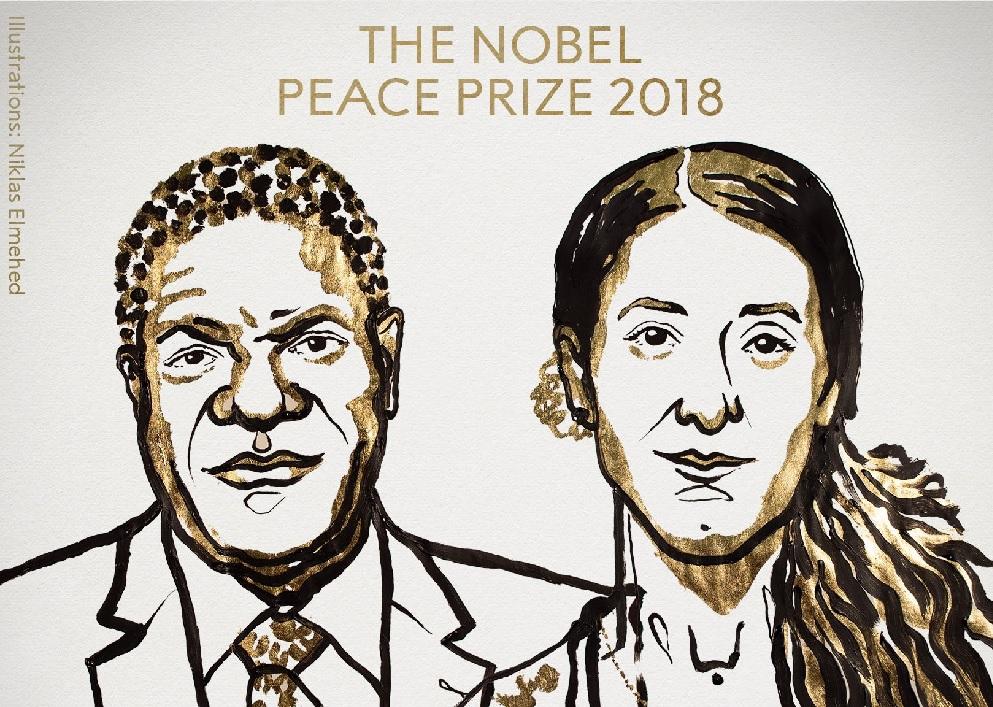 Denis Mukwege y Nadia Murad, Nobel de la Paz 2018