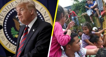 'Nunca aceptaremos a ilegales en Estados Unidos': Trump a caravana migrante