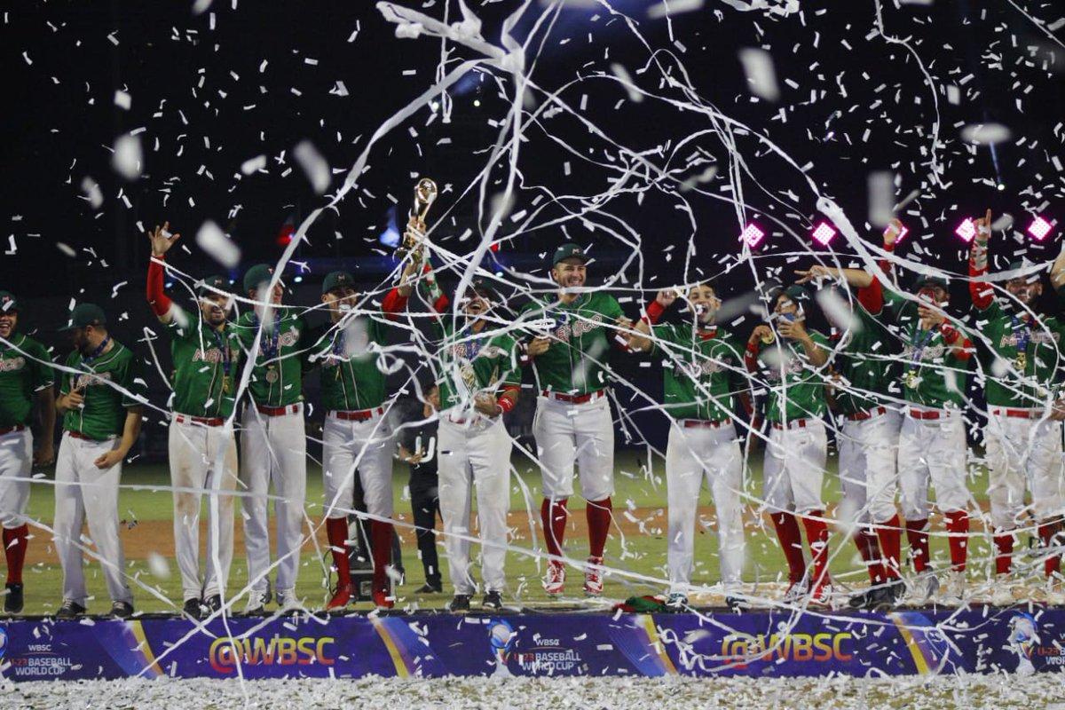 ¡Los monarcas! México se coronó Campeón del Mundial Sub-23 de beisbol
