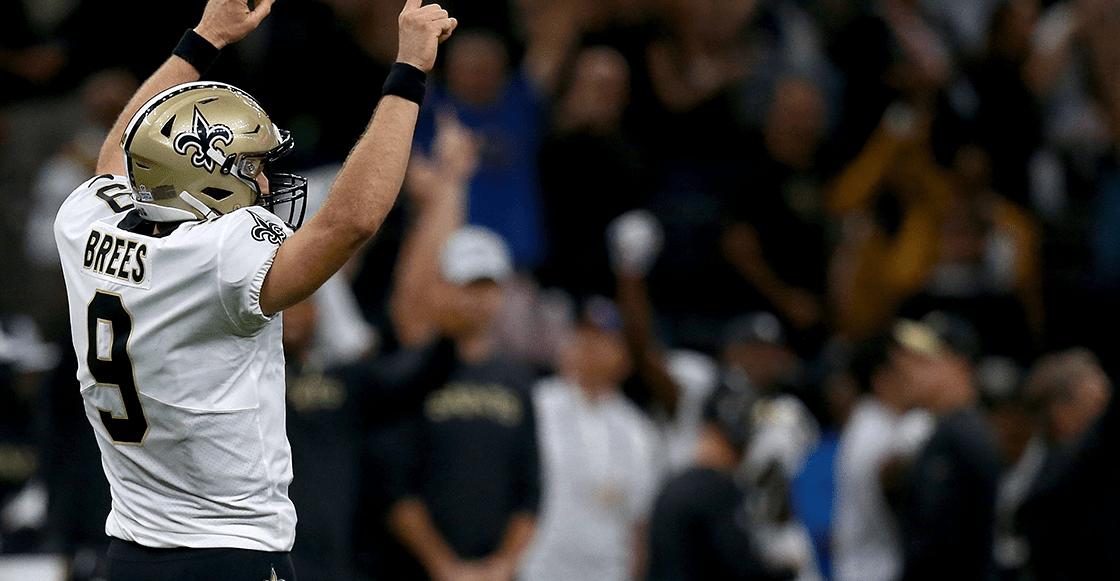 ¡Adiós Peyton! Drew Brees es líder histórico de la NFL en yardas por pase