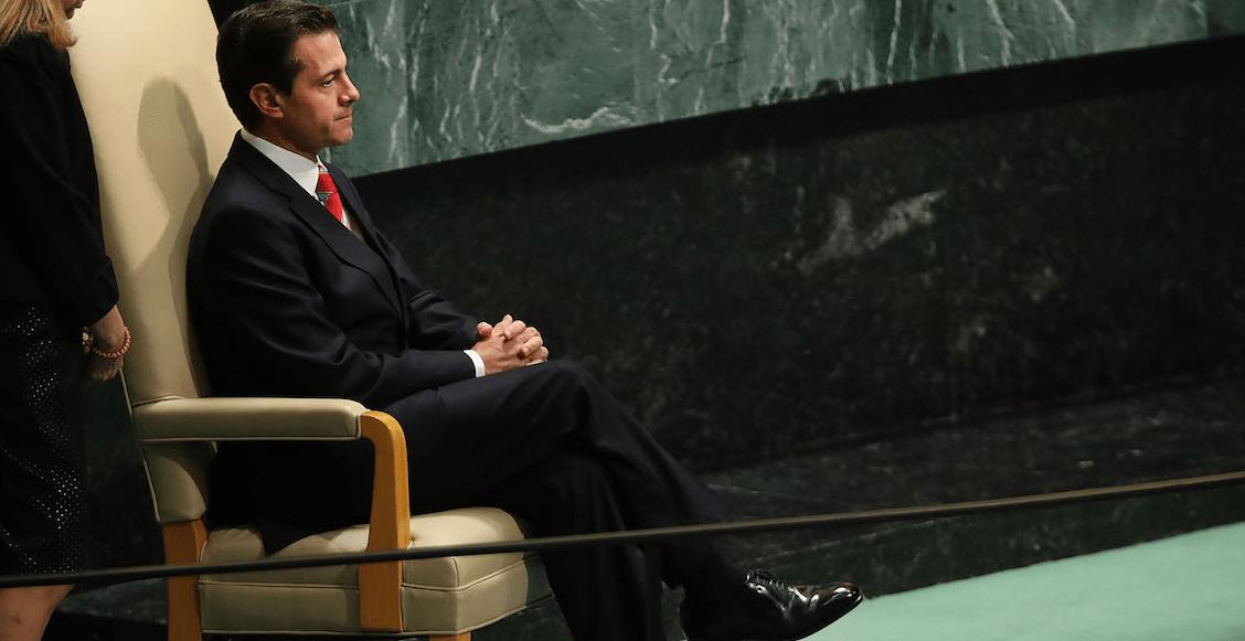 Peña Nieto y su gabinete buscan amparo para no ser investigados