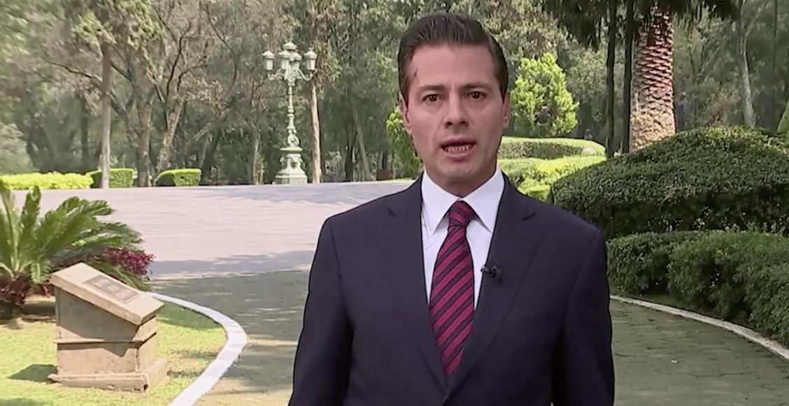 EPN cambia su discurso contra caravana migrante y aplica #EstásEnTuCasa