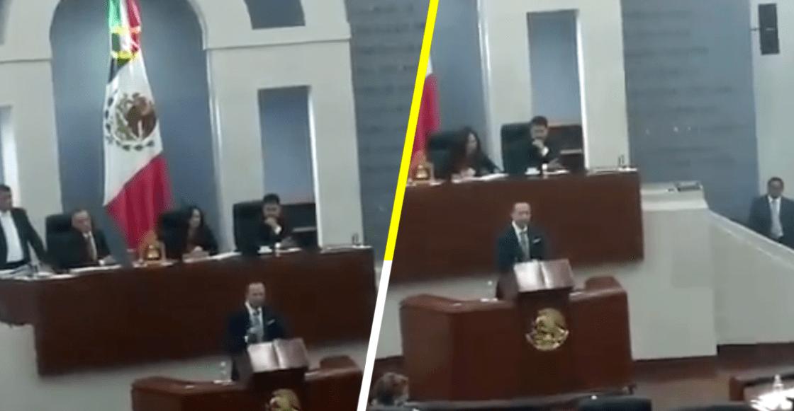 'Quisiera que fuera hombre para partirle la madre': diputado del Verde a legisladora