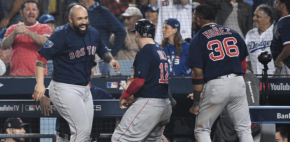 ¡En la lona! Los Red Sox se llevan el Juego 4 de la Serie Mundial