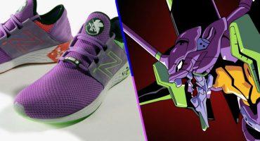 Amantes del anime: New Balance estaría preparando unos sneakers de Evangelion