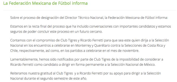 Gerardo Martino o Carlos Queiroz, las únicas opciones para dirigir al Tri