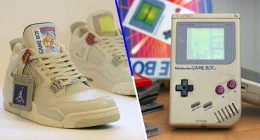 Gamers acá su regalo de Navidad: Unos Air Jordan versión Game Boy