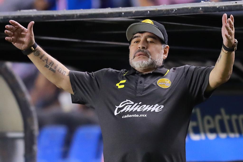 ¿Qué es un 'Tuca'? ¡Maradona se propone como DT de la Selección Mexicana!