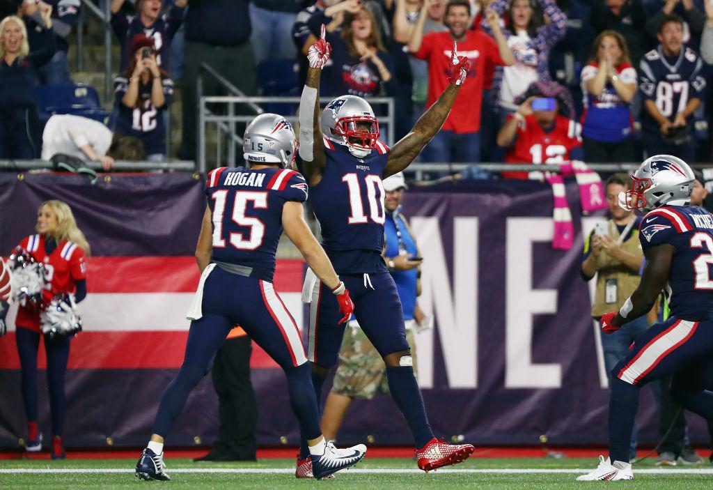 Ve en imágenes el histórico triunfo de los Patriots sobre los Colts