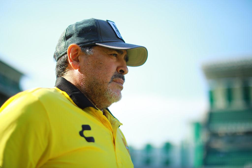 Sensishito y carismático: Maradona llegó a Dorados a trabajar y no a vender humo