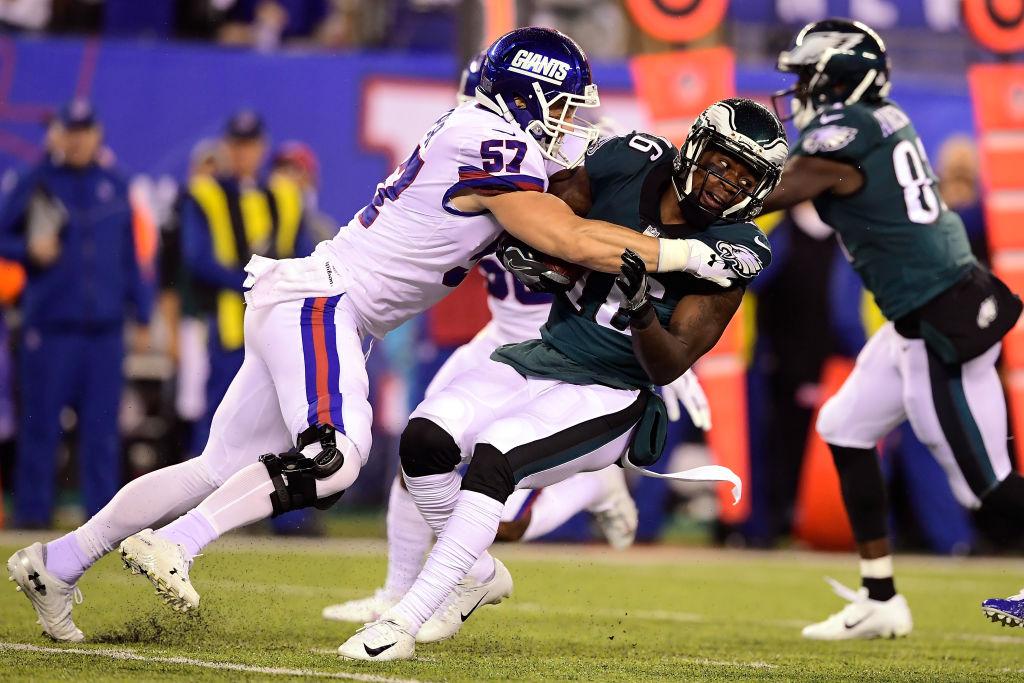 ¿Cuáles Gigantes? 20 imágenes del 'vuelo' de las Eagles sobre los Giants