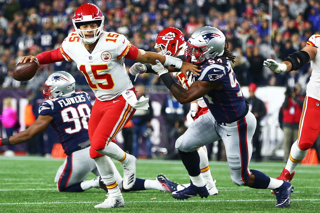 ¡Adiós invicto! New England Patriots frenan a los Kansas City Chiefs