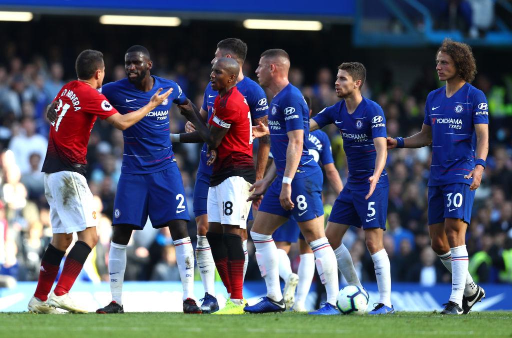 La polémica pelea entre Mourinho y el asistente de Maurizio Sarri