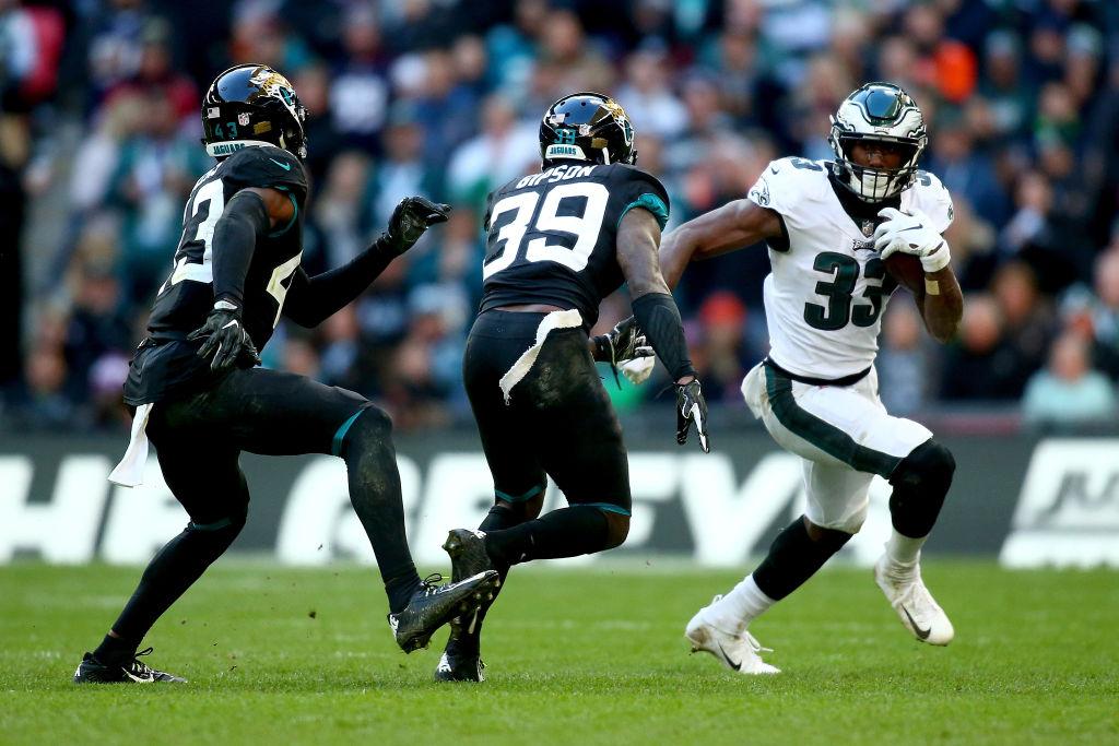 ¡De alarido! 15 imágenes del triunfo de las Eagles sobre los Jaguars en Londres