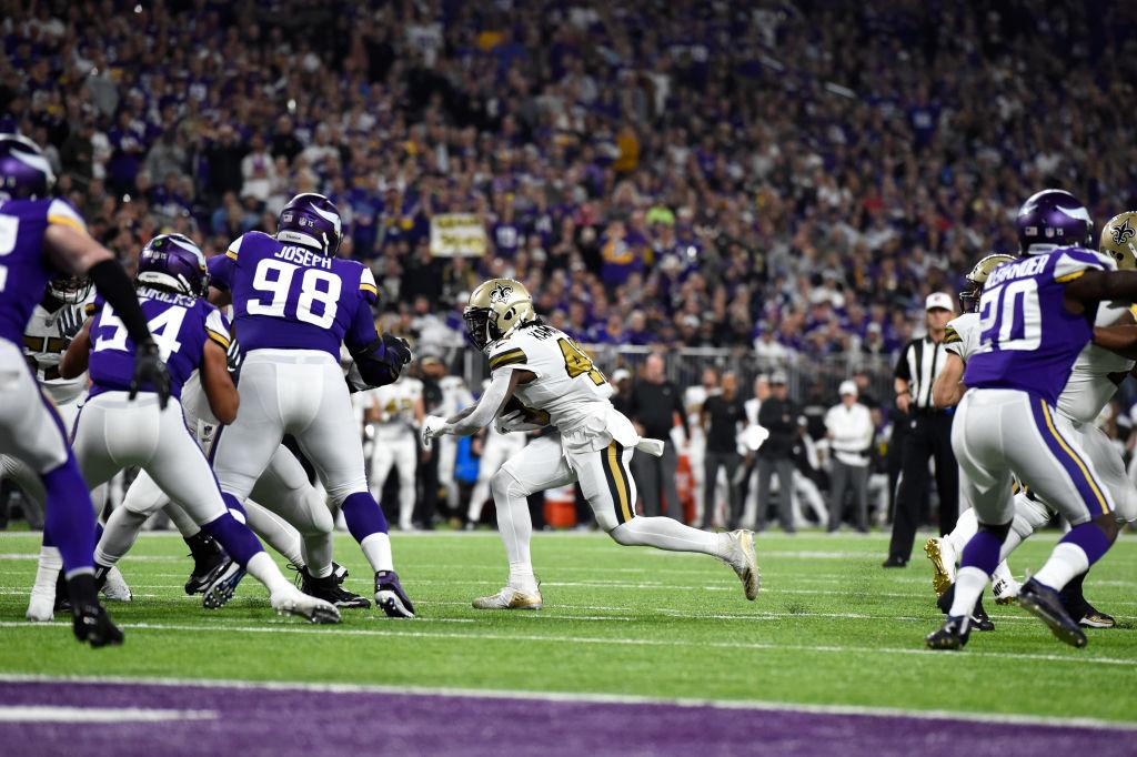 ¡Dulce venganza! Saints derrotan a los Vikings en la Semana 8 de la NFL
