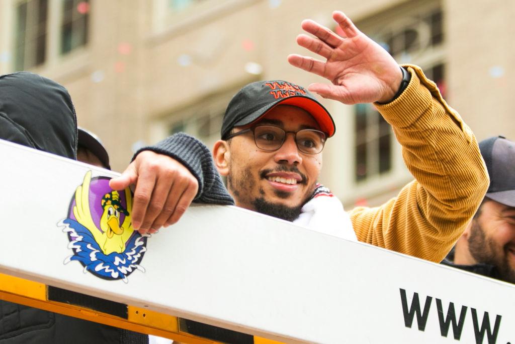 En imágenes: Así fue el desfile de campeón de los Red Sox de Boston