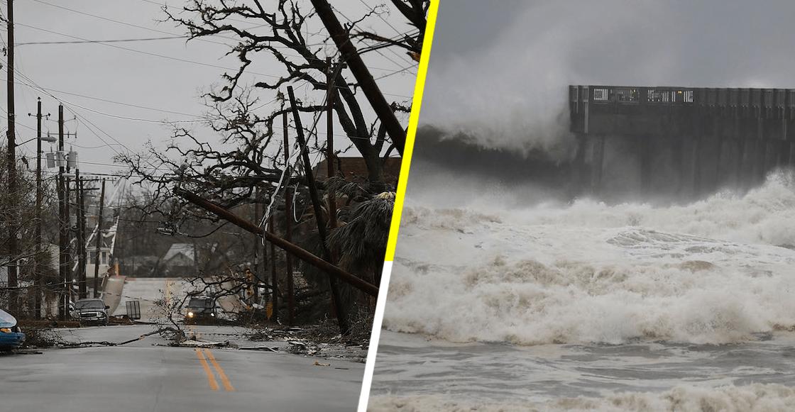 En imágenes: entre lluvias e inundaciones el paso de Michael en Florida