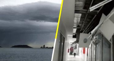 Huracán Willa toca tierra en Escuinapa, Sinaloa; se degrada a depresión tropical