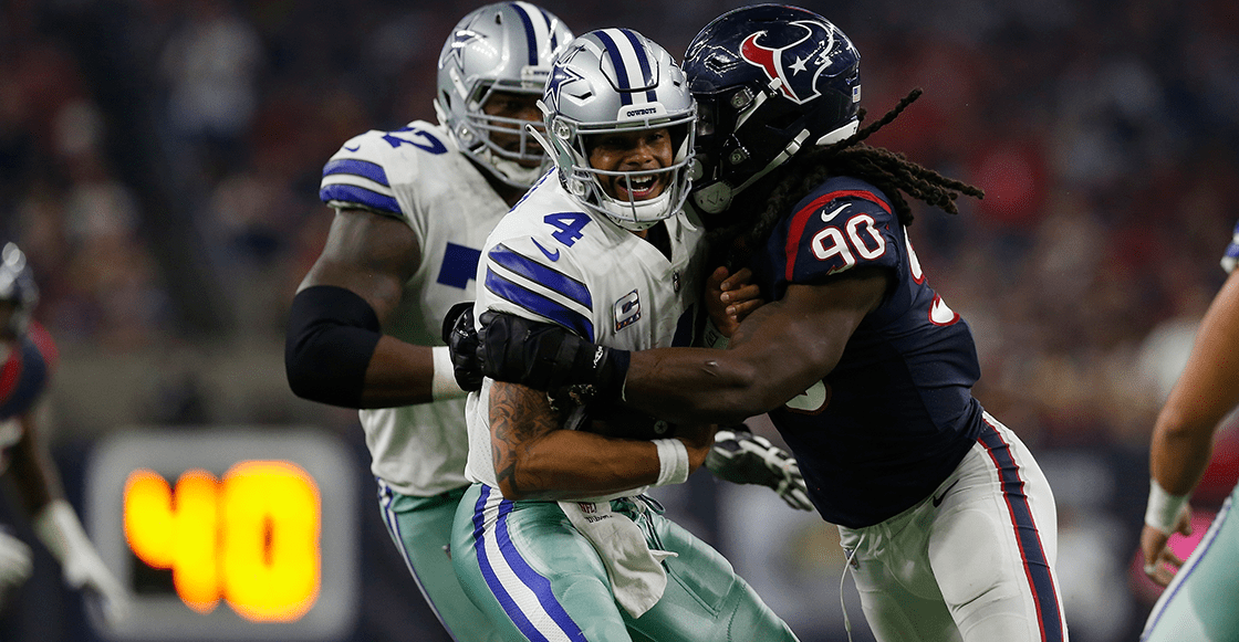 ¡Texas es de los Texans! 15 imágenes del triunfo de Houston sobre Dallas