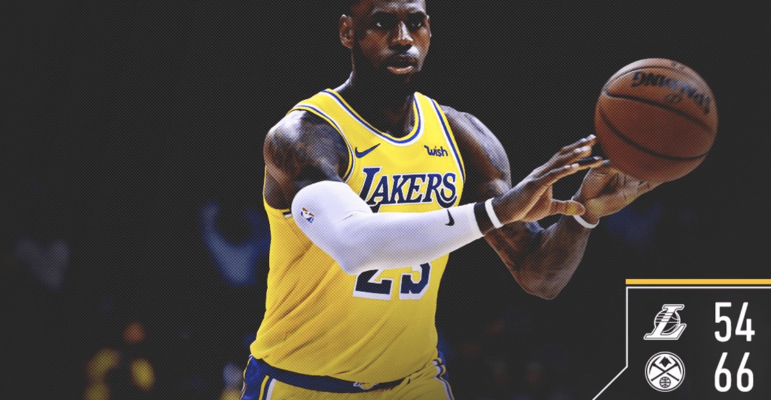 Lo bueno y no tan bueno del debut de LeBron James con los Lakers