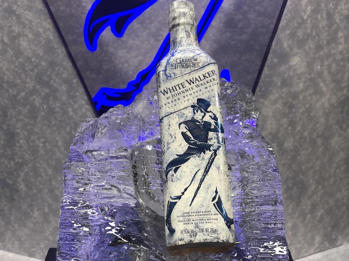 La botella del nuevo Whisky de Game Of Thrones Creado por Johnnie Walker