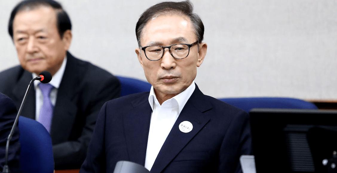 Manden a Javidú pa'llá: en Corea del Sur condenan a expresidente a 15 años de prisión