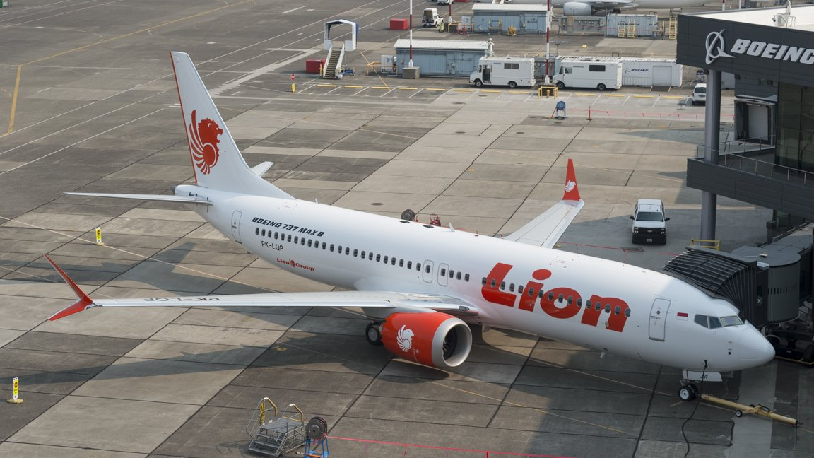 Avión de la empresa Lion Air