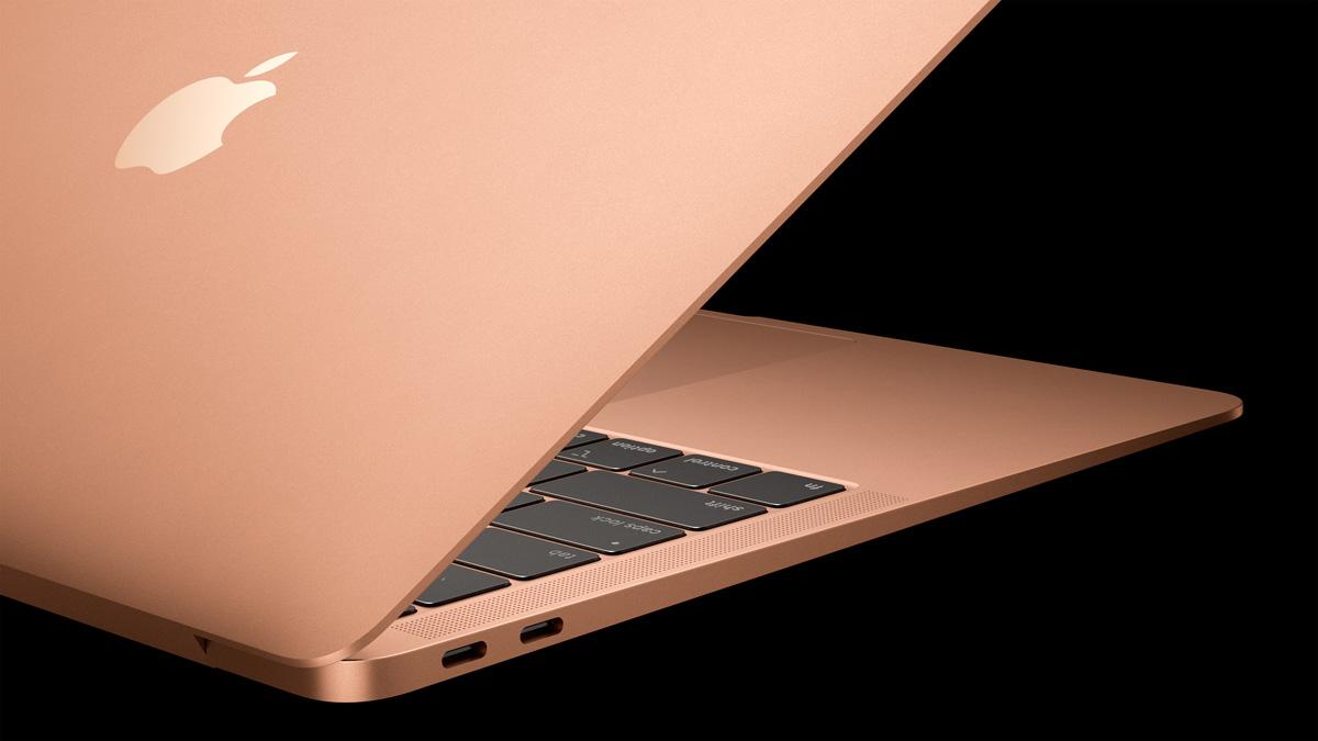 La nueva Mac Book Air incorpora dos puertos Thunderbolt