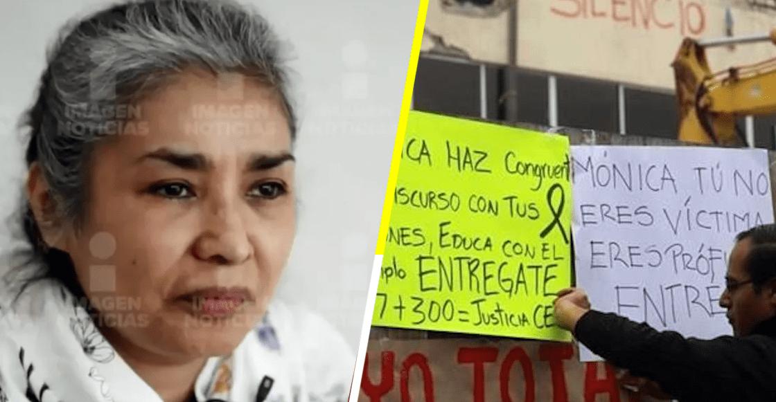 Padres y familiares de sobrevivientes del Colegio Rébsamen exigen a la directora que se entregue