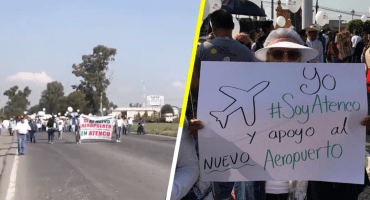 Ver para creer: alcalde de San Salvador Atenco marcha a favor del NAIM Texcoco