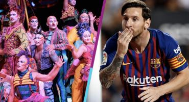 ¡Cha-channnn! El nuevo espectáculo del Cirque du Soleil será de... ¡Messi!
