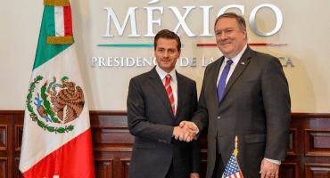 Detener el paso de migrantes ilegales, prioridad para Estados Unidos: Pompeo