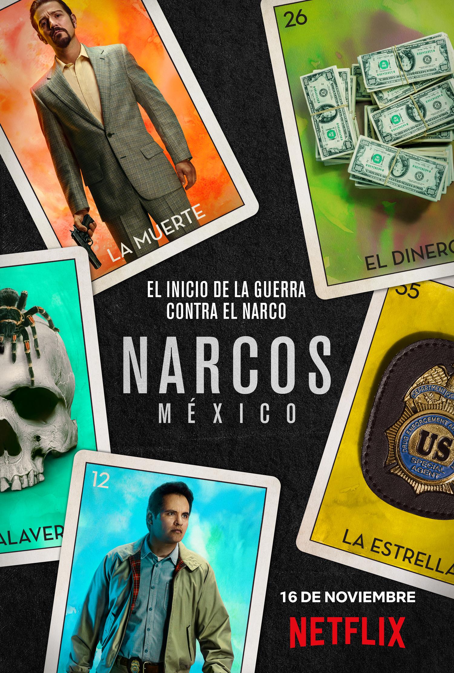 Diego Luna, Tessa IA, Chema Yazpik y el significado de Narcos: México