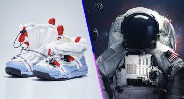 ¿Viaje a la Luna? Nike sacó unos tenis inspirados en la NASA