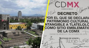 A 50 años del 68: declaran a la Plaza de las 3 Culturas como Patrimonio Cultural Intangible