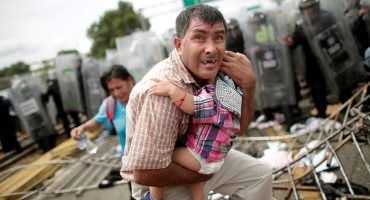 10 fotos que retratan la angustia y desesperación que vive la Caravana Migrante