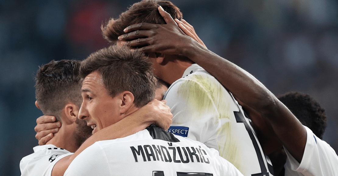 Juventus golea; Manchester City remonta y vence al Hoffenheim