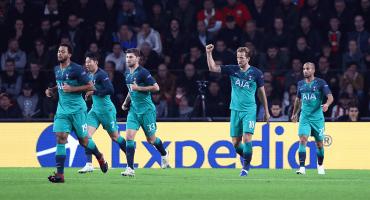 ¡Tablas! PSV-Tottenham; Brugge-Monaco terminan igualados