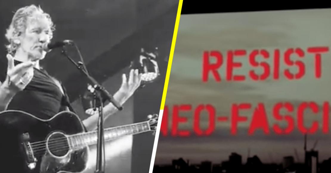 'Resiste al Neo-Fascismo': concierto de Waters divide a brasileños por Bolsonaro