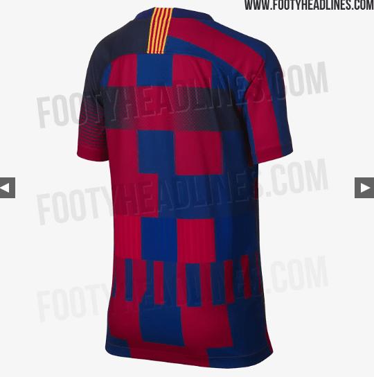 ¿Croacia eres tú? Filtran más imágenes del nuevo jersey del Barcelona