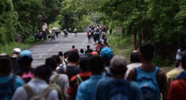 Caravana migrante no hace peligrar seguridad,