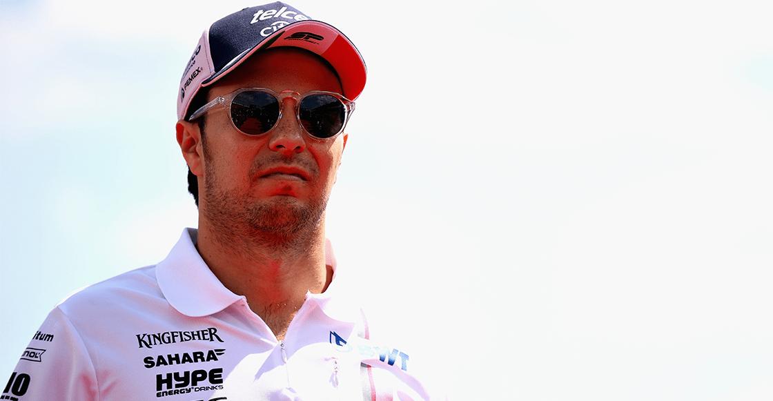 ¡No se va! 'Checo' Pérez es confirmado con Force India para 2019