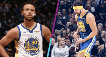 ¡Pum! El mega récord de Stephen Curry y Klay Thompson en la NBA