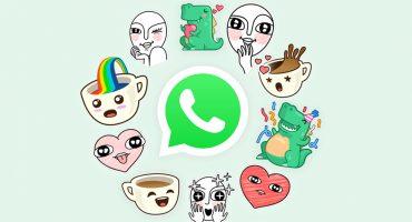 ¡Qué bonitos! ¡Finalmente los stickers llegaron a WhatsApp!