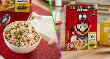 El Super Mario Cereal llegó a México y aquí te decimos todo lo que debes saber