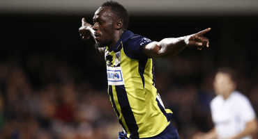 ¡Ya se estrenó! Usain Bolt marcó su primer doblete en Australia