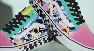 Vans sacará nueva línea de ropa por el 90º Aniversario de Mickey Mouse