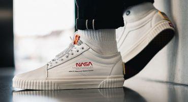 ¡De paseo a la Luna! Vans estrenará su línea de ropa de la NASA