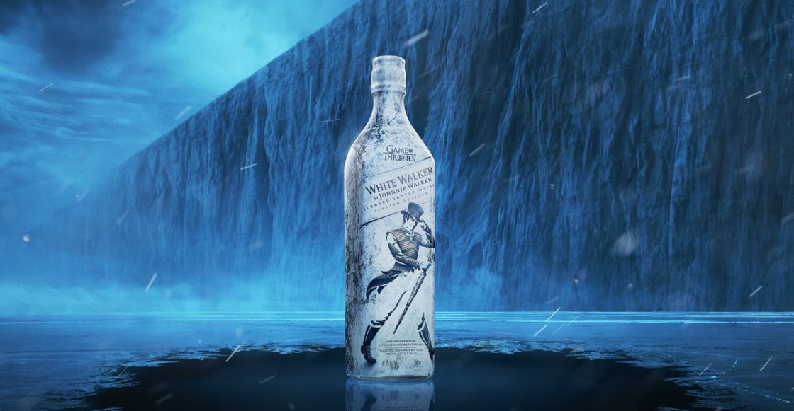 White Walker el Whiskey conmemorativo de Johnnie Walker y Game Of Thrones