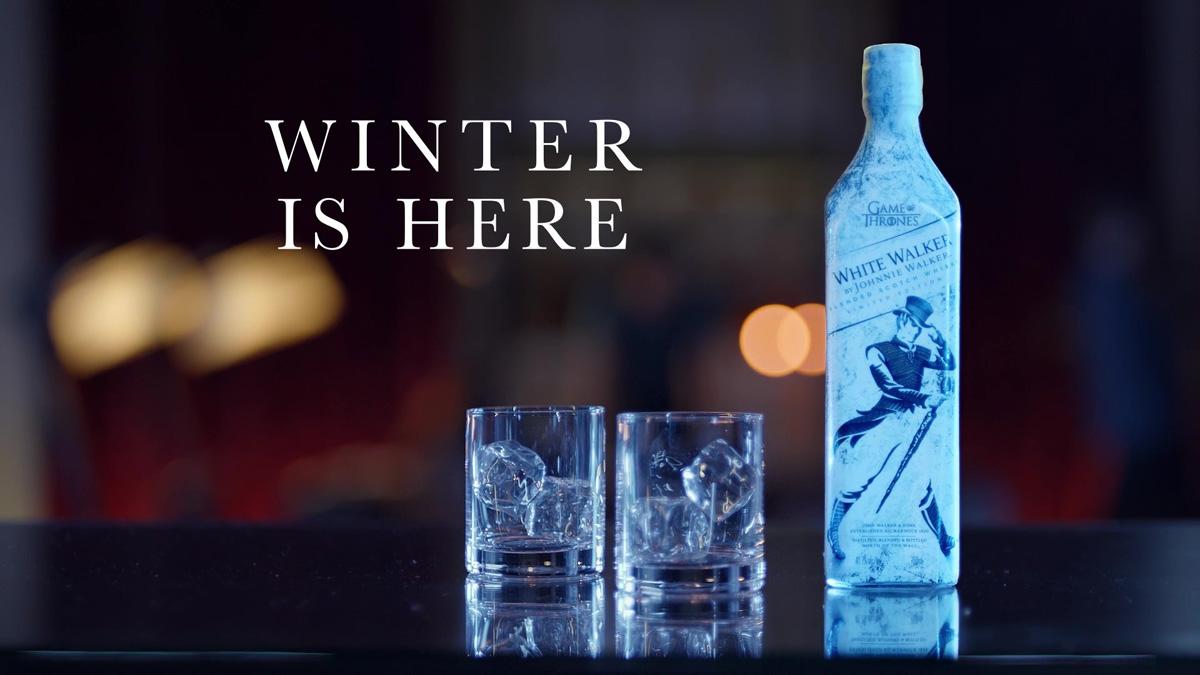 Winter Is Here asi es el Whisky de Johnnie Walker de Game Of Thrones